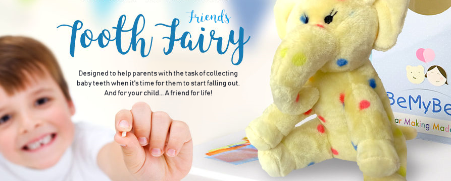 Pre-Stuffed Tooth Fairy Friend