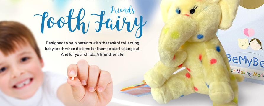 Pre-Stuffed Tooth Fairy Friend