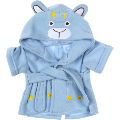 "Bear Bath Robe 16"" Outfit"