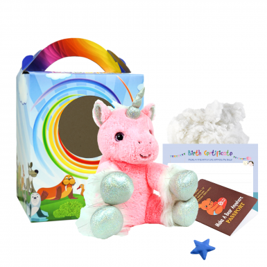 "Starlight Unicorn 8"" Travel Ted"