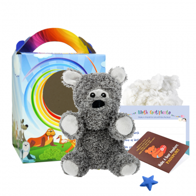 """Terry Terrier 8"""" Travel Ted"""