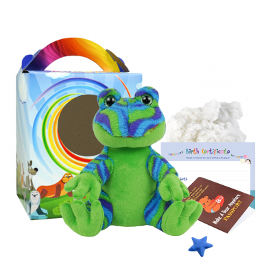 "Funky Frog 8"" Travel Ted"