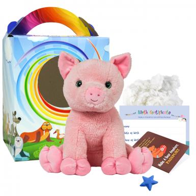 "Percy Pig 16"" Travel Ted"