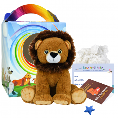 "Sir Roaralot Lion 16"" Travel Ted"