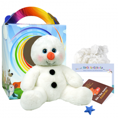 "Snowy Snowman 16"" Travel Ted"