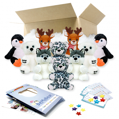 """Winter 8"""" Party Pack"""