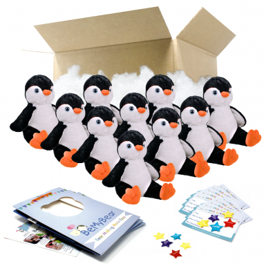 """Penguin 8"""" Party Pack"""