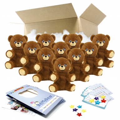 """Cuddle Bear 8"""" Party Pack"""