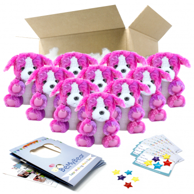 "Peaches Puppy 8"" Party Pack"