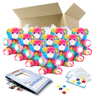 "Rainbow Drop 8"" Party Pack"