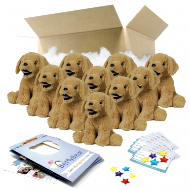 "Parsnip Pup 16"" Party Pack"