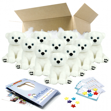 "Polar Bear 16"" Party Pack"