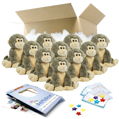 "Smiley Monkey 16"" Party Pack"