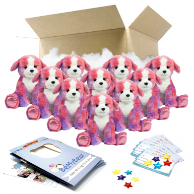 "Peaches Puppy 16"" Party Pack"