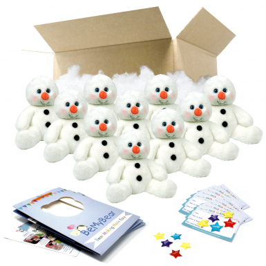 """Snowy Snowman 16"""" Party Pack"""
