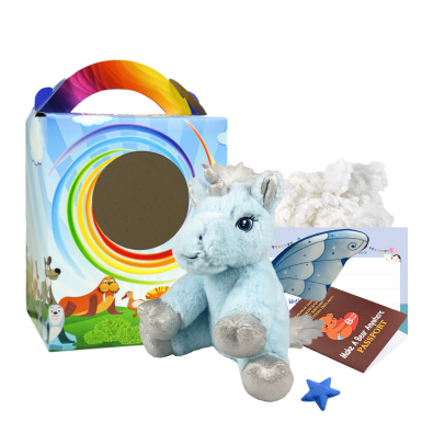"""Little Lamb 8"""" Travel Ted"""