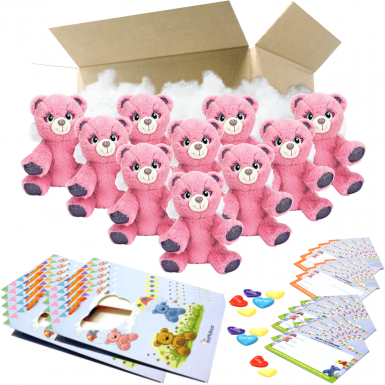 """Angel Bear 8"""" Party Pack"""