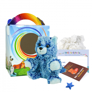 "Blue Fox 8"" Travel Ted"