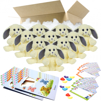 "Daisy Bunny 8"" Party Pack"