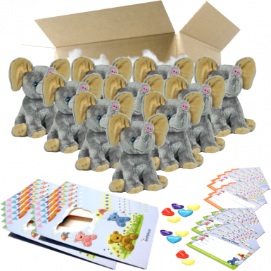 "Elephant 8"" Party Pack"