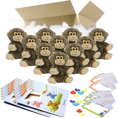 "Monkey 8"" Party Pack"