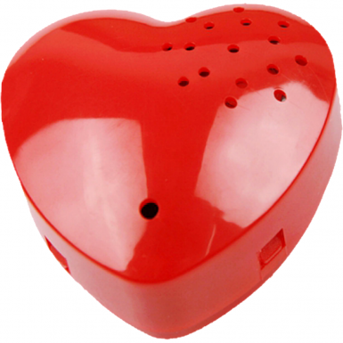 Recordable Red Heart Sound