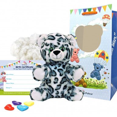 "Snow Leopard 8"" Animal Kit"