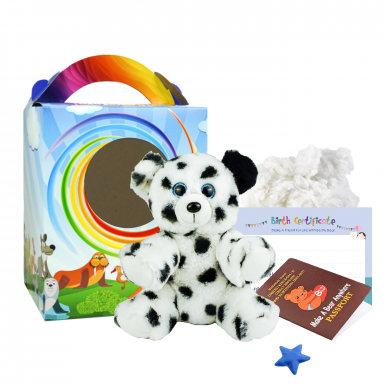 """Spot the Dalmatian 8"""" Travel Ted"""