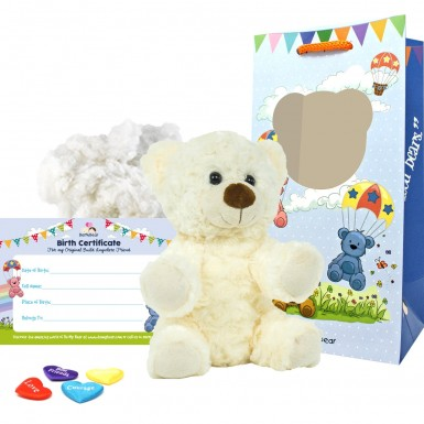 "White Twist 8"" Bear Kit"