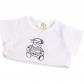 """Colour In Pirate 16"""" T-Shirt"""