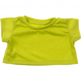 "Lime Green 16"" T-Shirt Teddy Bear Clothes"
