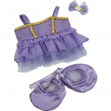 "Purple Ballerina 8"" Outfit"