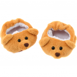 "Teddy Slippers 16"" Footwear"