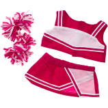 "Pink Cheerleader 16"" Teddy Bear Clothes"