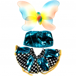 "Polka Dot Butterfly 16"" Outfit"