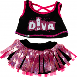 "Diva Girl 16"" Teddy Bear Clothes"