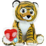 "Bruno Tiger 16"" Baby Heartbeat Bear"