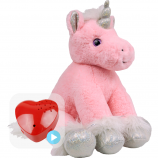 "Magic Unicorn 16"" Baby Heartbeat Bear"