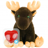"Moosey 16"" Baby Heartbeat Bear"