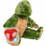 "Tommy Turtle 16"" Baby Heartbeat Bear"