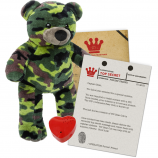 "Forces' Friend 16"" Message Bear"