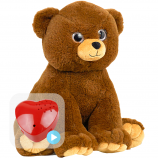 "Cuddle Bear 16"" Baby Heartbeat Bear"