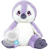 "Purple Penguin 8"" Baby Heartbeat Bear"