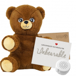 "Cuddle Bear 8"" Message Bear"