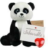 "Ping Panda 16"" Message Bear"