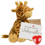 "Jerry Giraffe 16"" Message Bear"
