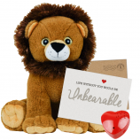 "Sir Roaralot Lion 16"" Message Bear"