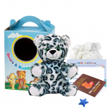 """Snow Leopard 8"""" Travel Ted"""