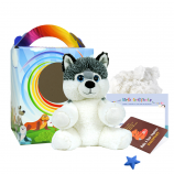 "Huey Husky 8"" Travel Ted"
