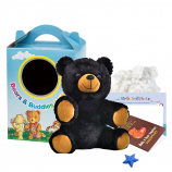 "Black Bear 8"" Travel Ted"